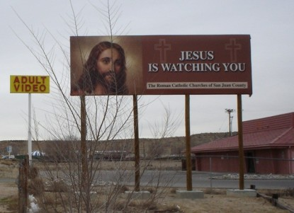 Jesus is watching